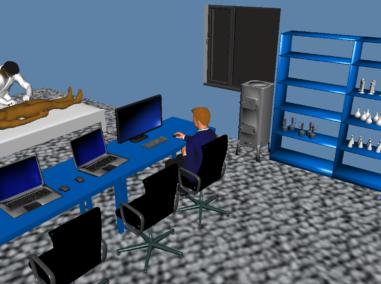 Biblioteka sylwetek 2D i modeli 3D_Laboratorium
