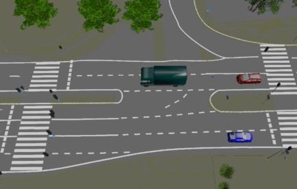 Infrastruktura drogowa i elementy terenu_Droga skrzyżowanie_1